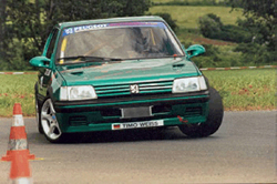 Peugeot 205 Gti 1,9 16V - Weiß Timo